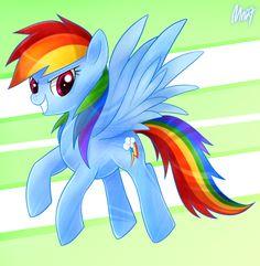 Rainbow Dash: Kesetiaan by Mn27.deviantart.com on @deviantART