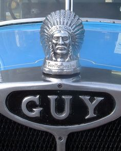 Guy Motors hood ornament...Re-pin....Brought to you by Agents of #CarInsurance at #HouseofinsuranceEugene