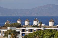 Windmills in Mykonos, Greece. #Europe #Mediterranean #Excursion