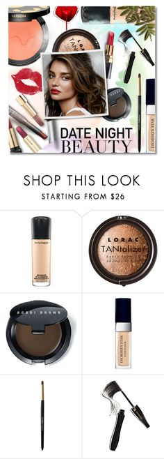 """""""Date Night Beauty"""" by anilovic ❤ liked on Polyvore featuring beauty, Sephora Collection, MAC Cosmetics, Chanel, LORAC, Bobbi Brown Cosmetics, Kerr®, Christian Dior, Dolce&Gabbana and Lancôme"""