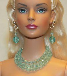 """Tranquility"" Jewelry Set for Tonner Tyler Cami Ellowyne DeeAnna Gene Sybarite"