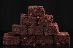 Una receta especial, los brownies con bourbon y nuez pecana.