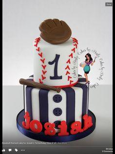 baseball themed party cake idea baseball birthday party