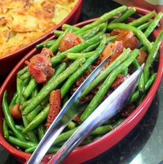 Inspired By eRecipeCards: Candy Bacon Green Bean Stir Fry - SPECTACULAR and EASY - 52 Simple But Next Level Dishes