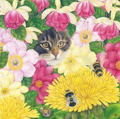 Hidden Away in the Flowers The Art of Anne Mortimer