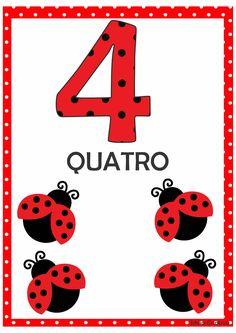 Numerais Joaninha para Imprimir Grátis Lego Activities, Motor Skills Activities, 1st Grade Worksheets, Preschool Worksheets, Flashcards For Kids, Numbers Preschool, Snoopy Love, Bird Theme, Step Kids