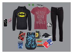 """""""Erin Bently's first day at Forks High"""" by melissabond97 on Polyvore featuring Dondup, Bling Jewelry, NIKE, John Lewis, Mead, KitSound, Casetify, eyebobs and Jack Spade"""