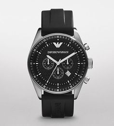 Best Review for Emporio Armani Watch, Men's Chronograph Black Rubber Strap AR0527 – Armani Watch | Mens Watches Store & Reviews... Visit Site for more information and where to buy.