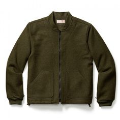 Wool Jacket Liner - Forest Green - S