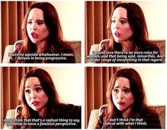 """I have no agenda whatsoever. I mean, I believe in being progressive. I would love there to be more roles for women, and that being said, minorities. And a wider range of storytelling in that regard. I don't think that's a radical thing to say, or radical to have..."" ~ Ellen Page - Click on this image to find an extended preview of the documentaty Miss Representation, which draws attention to the very problematic ways women and girls are represented in contemporary media."