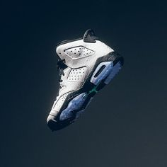 Air Jordan 6 Retro BG - White/White/Hyper Jade $140 BG sizes 4Y-7Y $80 BP sizes 10.5C-3Y $60 BT sizes 2C-10C Available 03.04.2017 at all locations. Call 225.761.3007 for more info. #jordan6 #retro6 #sneakerpolitics