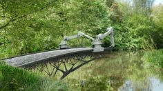 The city of Amsterdam is working with Dutch robot company MX3D and engineering software company Autodesk to create a 3D-printed bridge. http://3dprintmastermind.com/category/3d-print-design/
