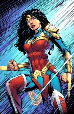 ArtStation - Wonder Woman's New Suit, Jeremiah Skipper, DC Super Hero Girls: Super Hero High Wonder Woman Kunst, Wonder Woman Drawing, Wonder Woman Art, Wonder Woman Comic, Wonder Women, Super Hero High, Dc Super Hero Girls, Univers Dc, Arte Dc Comics