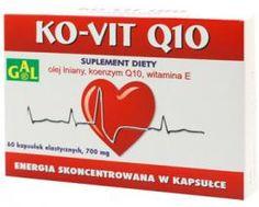 KO-VIT Q10 // Olej lniany, koenzym Q10, witamina E. ENERGIA SKONCENTROWANA W KAPSUŁCE. Chroni przed działaniem wolnych rodników. Uzupełnia niedobory koenzymu Q10. Zalecany w okresie przesilenia oraz nadmiernego obciążenia psychofizycznego organizmu. http://www.gal.com.pl/produkty/suplementy-diety/ko-vit-q10.html