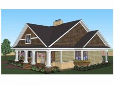 Fb101 Craftsman Craftsman Design Craftsman Home Plans Plan 42619 Plan