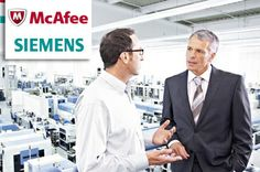 #McAfee & #Siemens join forces. Read more at our official webpage!!