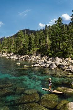Go kayaking on Lake Tahoe   5 Summer Getaway Ideas in Northern California & Oregon   Whatever type of traveler you area, here are some ideas for summer weekend getaways near San Francisco and Silicon Valley, California.