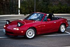 Ever since I was 10, I wanted a '90-97 Red Mazda Miata, MX-5