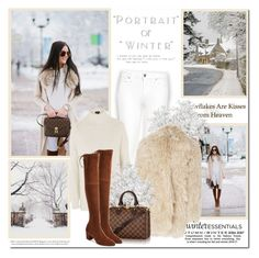 """Portrait of winter!!"" by lilly-2711 ❤ liked on Polyvore featuring GET LOST, Topshop and Rochas"