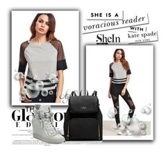 """""""Untitled #92"""" by lejlasoftic ❤ liked on Polyvore featuring Giuseppe Zanotti and Kate Spade"""