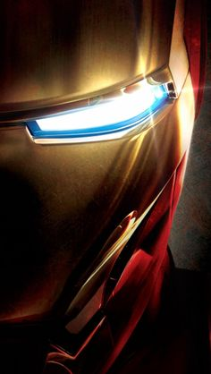 Iron Man Face Close-up iPhone 5 Wallpaper