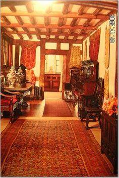 Hever castle inside -Anne Boleyn house, England