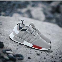 Adidas Originals NMD R1: Grey/Red/White