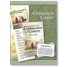 Commands of Christ Memorization and Meditation Tools Set