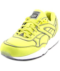 PUMA PUMA TRINOMIC R698 X ICNY MEN ROUND TOE CANVAS RUNNING SHOE .  puma b8c883afb