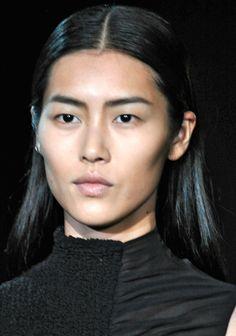 alexander wang slick back hair