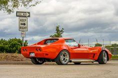 76 CORVETTE STINGRAY  LS1  Richmond 6  Intro Pentia wheels Body work and paint by Custom Image Corvettes.