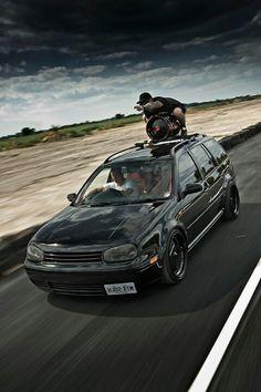 VW Jetta wagon.