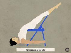 Savargansana en una Silla   #Yoga #Meditación