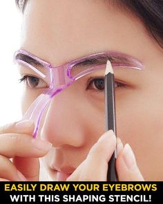 Eyebrow Makeup Tips, Makeup Eye Looks, Skin Makeup, Eyebrow Tools, Contour Makeup, Beauty Skin, Beauty Makeup, Maquillage Black, How To Draw Eyebrows