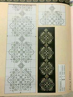 Cross Stitch Sampler Patterns, Cross Stitch Borders, Cross Stitch Samplers, Cross Stitching, Halloween Embroidery, Folk Embroidery, Cross Stitch Embroidery, Embroidery Patterns, Traditional Tapestries