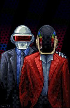 Daft Punk by *JINNdev on deviantART