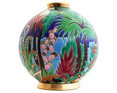 Boule Midi Jungle (Amazonie) - Tradition, Art Déco et Editions Spéciales/Editions Spéciales - Faïenceries de Longwy
