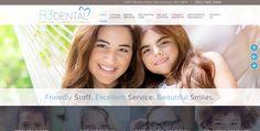 #sesamewebdesign #psds #dental #responsive #topnav #top-nav #fullwidth #full-width #blue #brown #sans #parallax