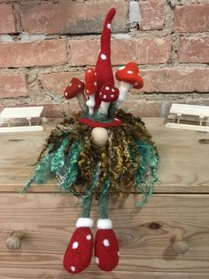 Needle Felted quirky gifts and Handmade Soft Sculptures by – Yoga Club Quirky Gifts, Unusual Gifts, Needle Felted Animals, Needle Felting, Christmas Wreaths, Christmas Gifts, Christmas Ornaments, Felt Gifts, Soft Sculpture