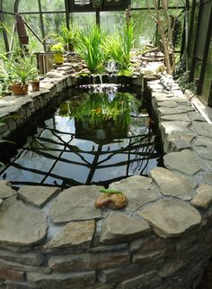 Maybe an indoor pond and a greenhouse for the northern climes.