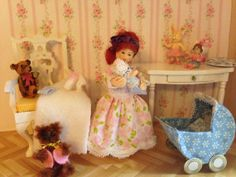 Linda ist eine Handmodellierte Kinderpuppe von MiniMagicDreams, €35.00