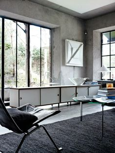 Poul Kjaerholm Lounge Chair Originally Designed In 1955 For E