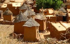 A village of the Dogon people - Mali