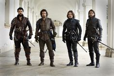 Image result for bbc musketeers season 3