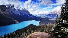 Peyto Lake Alberta Canada [OC][5312x2988]