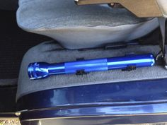 Mounting the MagLite in the Vanagon.