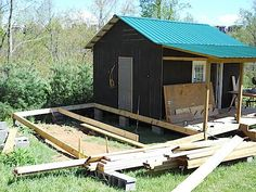 addition for small cabin second room 2   How to Build a Mortgage free Small House for $5,900