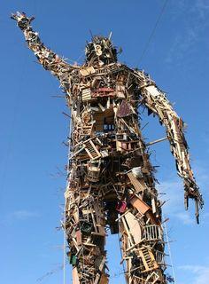 Exodus Film set Margate Kent 2006  #Sculpture