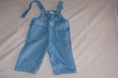 $8 Vintage 1980's Sears Baby Overalls in Blue by TheMercerStreetHouse