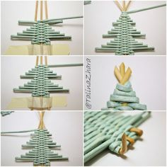 1 million+ Stunning Free Images to Use Anywhere Christmas Paper Crafts, Diy Christmas Ornaments, Holiday Crafts, Bamboo Weaving, Basket Weaving, Upcycled Crafts, Diy And Crafts, Diy Y Manualidades, Paper Mache Sculpture